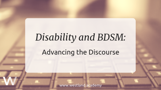Disability and BDSM